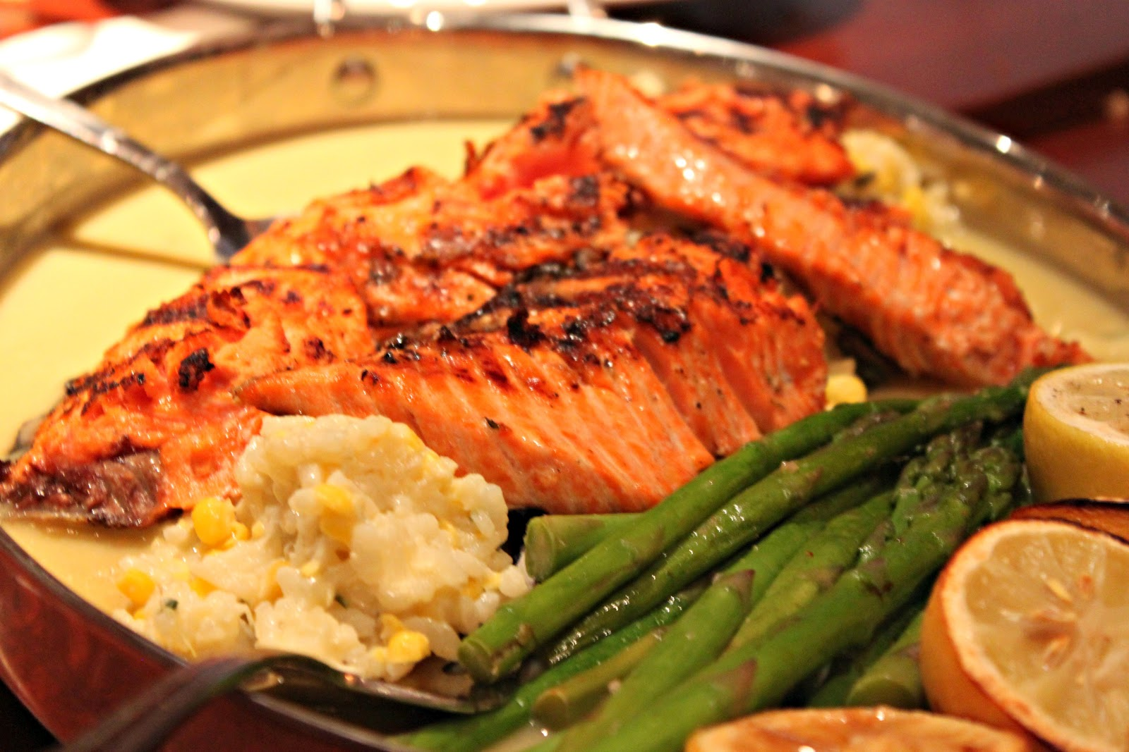 Roasted Pepper Salmon
